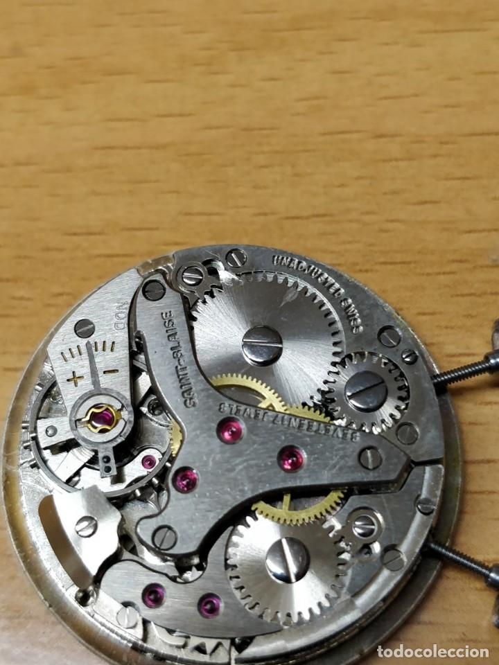 Relojes de bolsillo: Reloj de bolsillo despertador Saint Blaise modelo Key Watch con despertador alarma 17 rubies - Foto 5 - 149095942