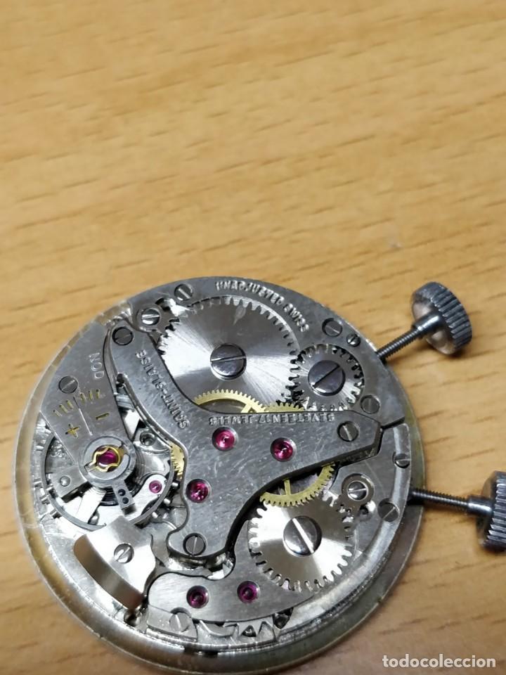 Relojes de bolsillo: Reloj de bolsillo despertador Saint Blaise modelo Key Watch con despertador alarma 17 rubies - Foto 6 - 149095942