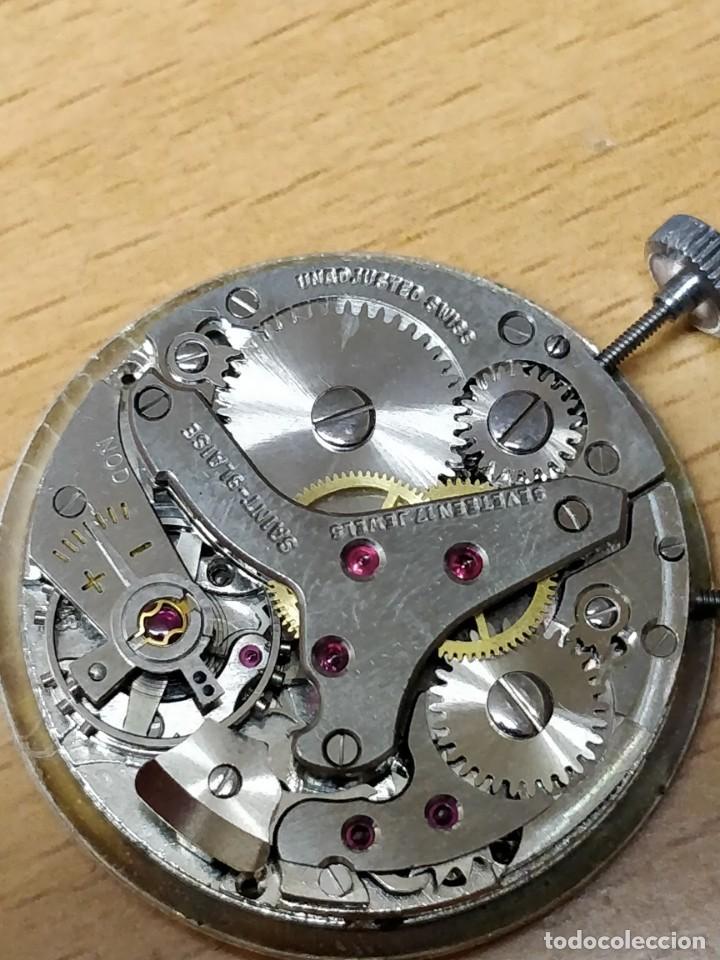 Relojes de bolsillo: Reloj de bolsillo despertador Saint Blaise modelo Key Watch con despertador alarma 17 rubies - Foto 7 - 149095942