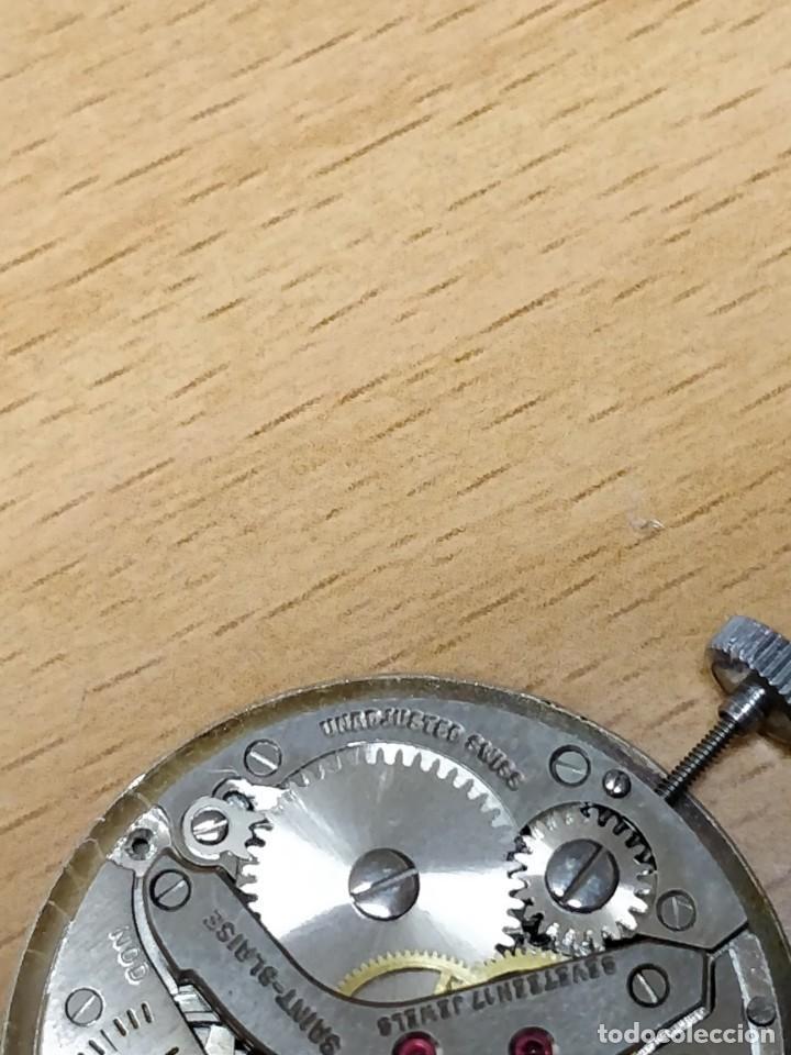 Relojes de bolsillo: Reloj de bolsillo despertador Saint Blaise modelo Key Watch con despertador alarma 17 rubies - Foto 8 - 149095942