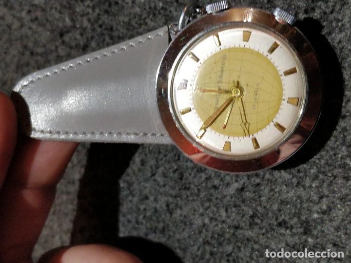 Relojes de bolsillo: Reloj de bolsillo despertador Saint Blaise modelo Key Watch con despertador alarma 17 rubies - Foto 11 - 149095942