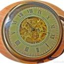Relojes de bolsillo: RELOJ BOLSILLO CAJA COBRE MECANICO.. Lote 140570310