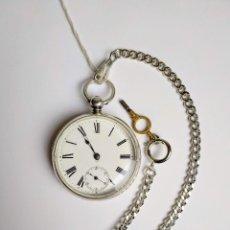 Relojes de bolsillo: SEMICATALINO ASHTON, RELOJ BRITÁNICO, MUY BUEN ESTADO.. Lote 149899866