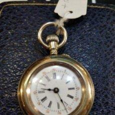 Relojes de bolsillo: RELOJ DE BOLSILLO, CUERDA , REPASADO Y FUNCIONANDO. Lote 150071866