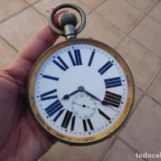 Relojes de bolsillo: RELOJ DE BOLSILLO GOLIATH XXL AÑO 1900 APROX.. Lote 150077602