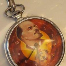 Relojes de bolsillo: RELOJ DE BOLSILLO SHOCK RESISTANT 18 JEWELS, FUNCIONA PERFECTAMIENTE, BUEN ESTADO. Lote 150753074