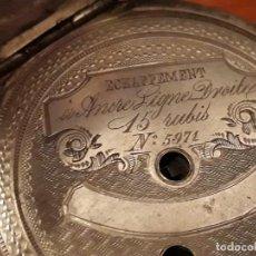 Relojes de bolsillo: ANTIGUO RELOJ DE BOLSILLO LARDET FLEUIER SUISSE,Nº5971, AÑOS ENTRE 1880-1900 VER DESCRIPCION Y FOTOS. Lote 150758922