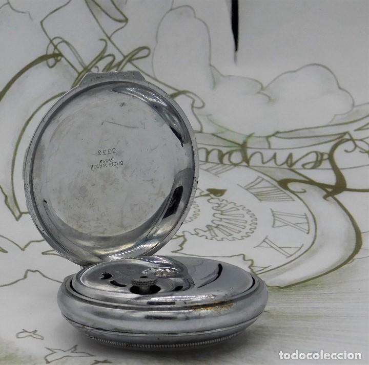 Relojes de bolsillo: CON ALARMA-IBARIA (BAUMGARTNER FRÉRES)-GRAN RELOJ DE BOLSILLO-MITAD SIGLO XX-SUIZO-FUNCIONANDO - Foto 2 - 151007474