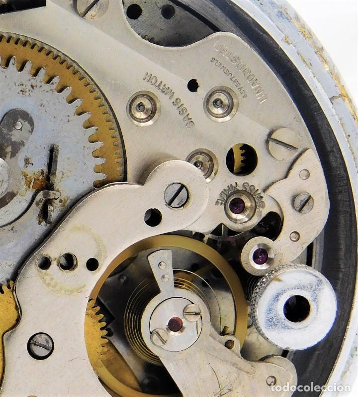 Relojes de bolsillo: CON ALARMA-IBARIA (BAUMGARTNER FRÉRES)-GRAN RELOJ DE BOLSILLO-MITAD SIGLO XX-SUIZO-FUNCIONANDO - Foto 7 - 151007474