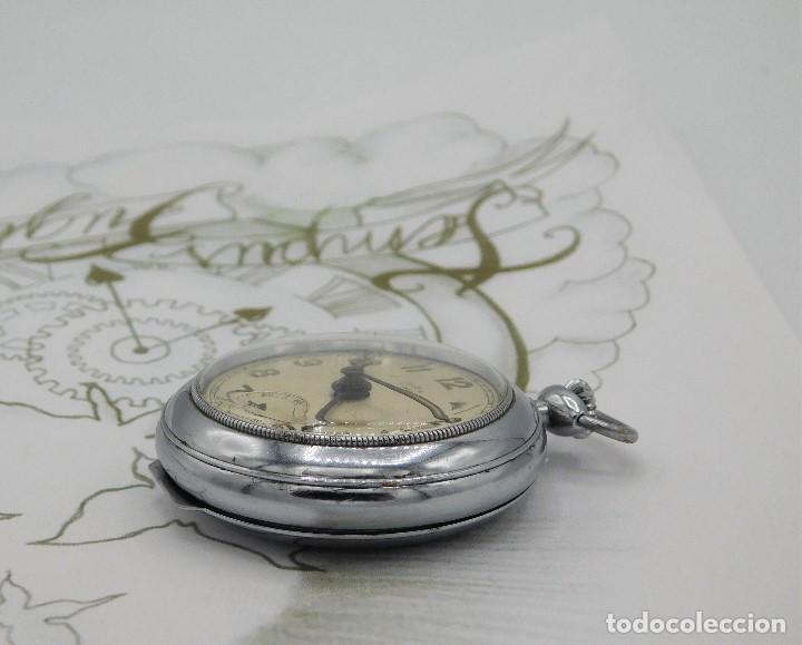 Relojes de bolsillo: CON ALARMA-IBARIA (BAUMGARTNER FRÉRES)-GRAN RELOJ DE BOLSILLO-MITAD SIGLO XX-SUIZO-FUNCIONANDO - Foto 9 - 151007474
