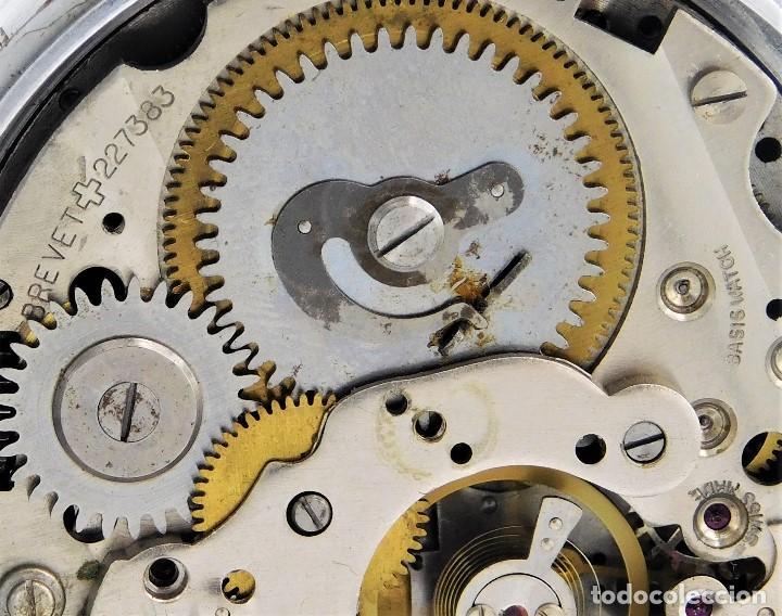 Relojes de bolsillo: CON ALARMA-IBARIA (BAUMGARTNER FRÉRES)-GRAN RELOJ DE BOLSILLO-MITAD SIGLO XX-SUIZO-FUNCIONANDO - Foto 10 - 151007474