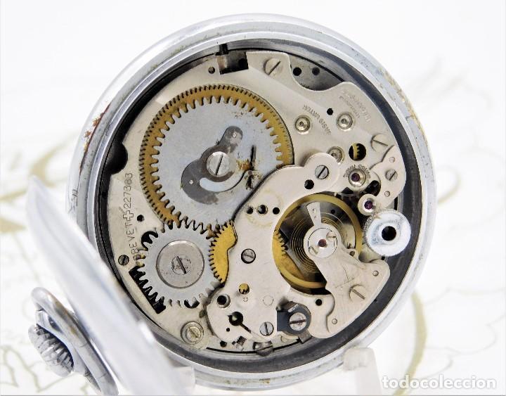 Relojes de bolsillo: CON ALARMA-IBARIA (BAUMGARTNER FRÉRES)-GRAN RELOJ DE BOLSILLO-MITAD SIGLO XX-SUIZO-FUNCIONANDO - Foto 11 - 151007474