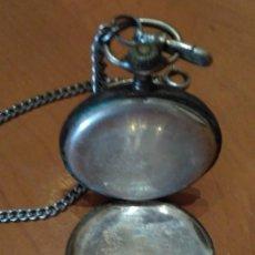 Relojes de bolsillo: RELOG DE BOLSILLO CAJA DE PLATA. Lote 151110310