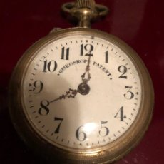 Relojes de bolsillo: RELOJ DE BOLSILLO ROSKOPF PATENT. REMONTOIR ANCRE. Lote 151445220
