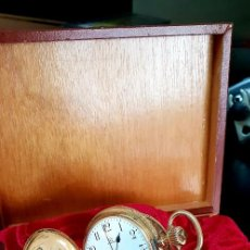 Relojes de bolsillo - Exclusivo reloj omega en oro 18k, tres grandes premios - 151853386