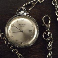Relojes de bolsillo: RELOJ DE BOLSILLO THERMIDOR FUNCIONANDO CORECTAMENTE EN BUEN ESTADO. Lote 151907680