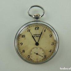 Relojes de bolsillo: ANTIGUO RELOJ DE BOLSILLO DE CUERDA MARCA SERKJSOF RUSIA USSR FUNCIONA. Lote 151911354