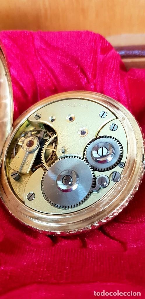 Relojes de bolsillo: Exclusivo reloj omega en oro 18k, tres grandes premios - Foto 6 - 151853386
