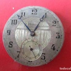 Relojes de bolsillo: MAQUINA DE RELOJ BOLSILLO ANTIGUA. Lote 152335542