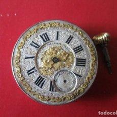 Relojes de bolsillo: MAQUINA DE RELOJ BOLSILLO ANTIGUA. Lote 152336970