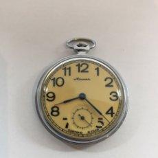 Relojes de bolsillo: RELOJ VINTAGE BOLSILLO MOLNIJA. Lote 152358558