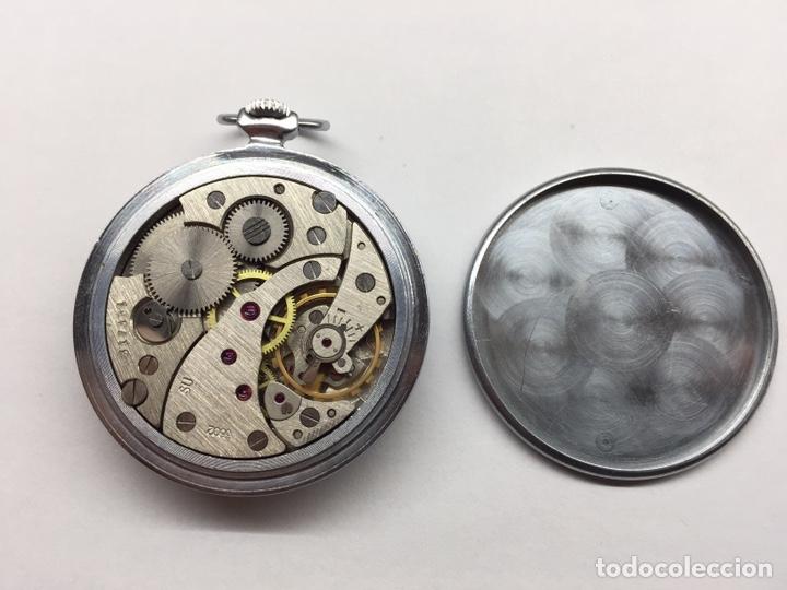 Relojes de bolsillo: Reloj Vintage bolsillo Molnija - Foto 2 - 152358558