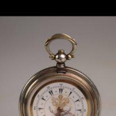 Relojes de bolsillo: RELOJ DE BOLSILLO PLATA OTOMANO. Lote 152365180
