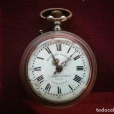 Relojes de bolsillo: RELOJ DE BOLSILLO ANTIGUO ROSKOPF PATENT CUERVO Y SOBRINO. EN FUNCIONAMIENTO. Lote 152466858