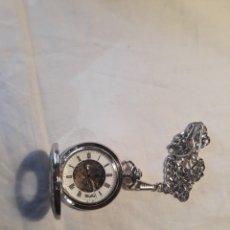 Relojes de bolsillo: RELOJ DE BOLSILLO WOODFORD.CROMO PLATEADO.. Lote 152890137