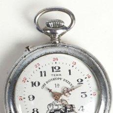 Relojes de bolsillo: RELOJ DE BOLSILLO. TEKA. TIPO ROSKOPF. ESTILO LEPINE. SUIZA SIGLO XX. . Lote 153191574