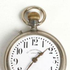 Relojes de bolsillo: RELOJ DE BOLSILLO. EL CRONOMETRO GW AND CIA. TIPO LEPINE. SUIZA. SIGLO XX. . Lote 153308402