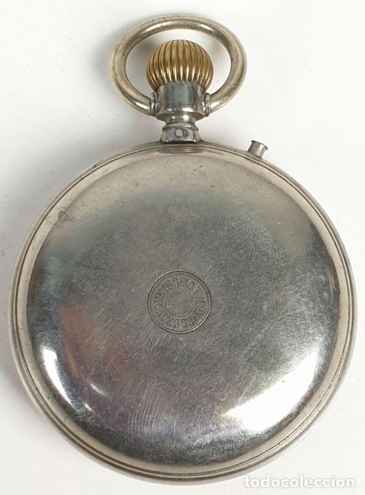 Relojes de bolsillo: RELOJ DE BOLSILLO. EL CRONOMETRO GW AND CIA. TIPO LEPINE. SUIZA. SIGLO XX. - Foto 2 - 153308402