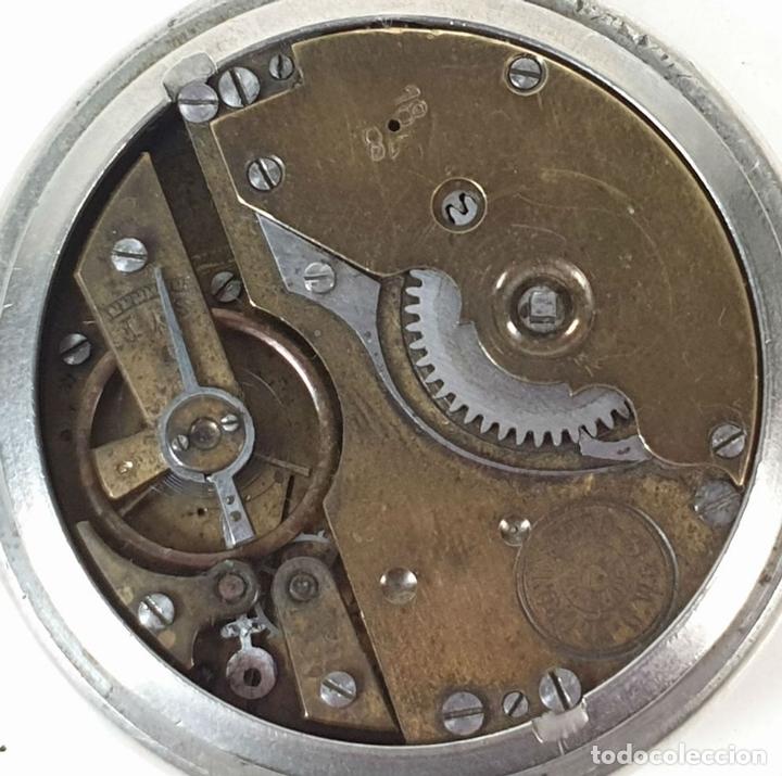 Relojes de bolsillo: RELOJ DE BOLSILLO. EL CRONOMETRO GW AND CIA. TIPO LEPINE. SUIZA. SIGLO XX. - Foto 3 - 153308402