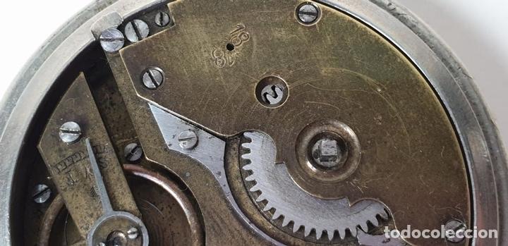 Relojes de bolsillo: RELOJ DE BOLSILLO. EL CRONOMETRO GW AND CIA. TIPO LEPINE. SUIZA. SIGLO XX. - Foto 7 - 153308402