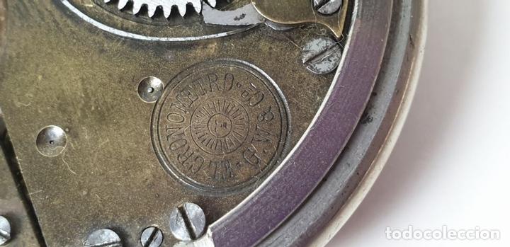 Relojes de bolsillo: RELOJ DE BOLSILLO. EL CRONOMETRO GW AND CIA. TIPO LEPINE. SUIZA. SIGLO XX. - Foto 8 - 153308402
