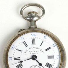 Relojes de bolsillo: RELOJ DE BOLSILLO. TIPO LEPINE. ESTILO ROSKOPF PATENT. SUIZA SIGLO XX. . Lote 153311090