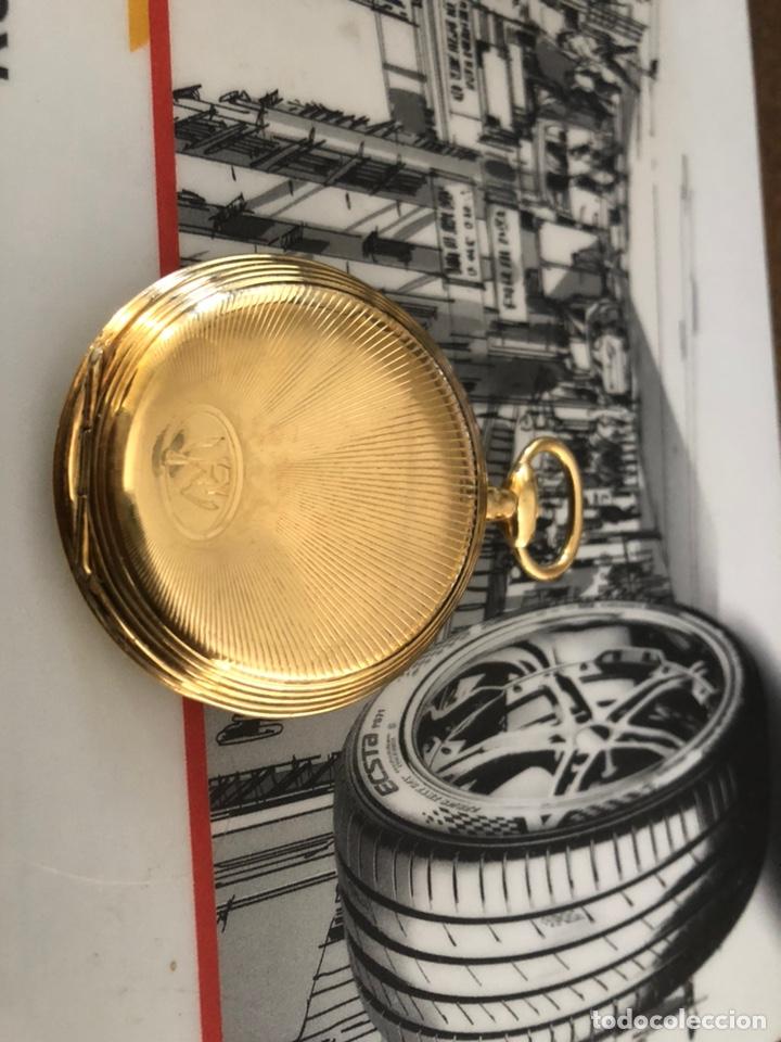 Relojes de bolsillo: Precioso reloj Drusus doble chapado mde oro , ver foto 54 mm falta corona - Foto 2 - 153311688