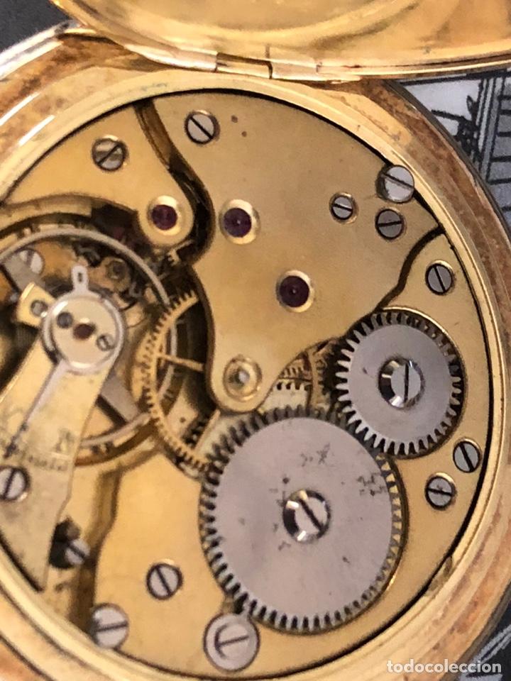 Relojes de bolsillo: Precioso reloj Drusus doble chapado mde oro , ver foto 54 mm falta corona - Foto 6 - 153311688