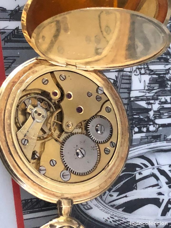 Relojes de bolsillo: Precioso reloj Drusus doble chapado mde oro , ver foto 54 mm falta corona - Foto 7 - 153311688