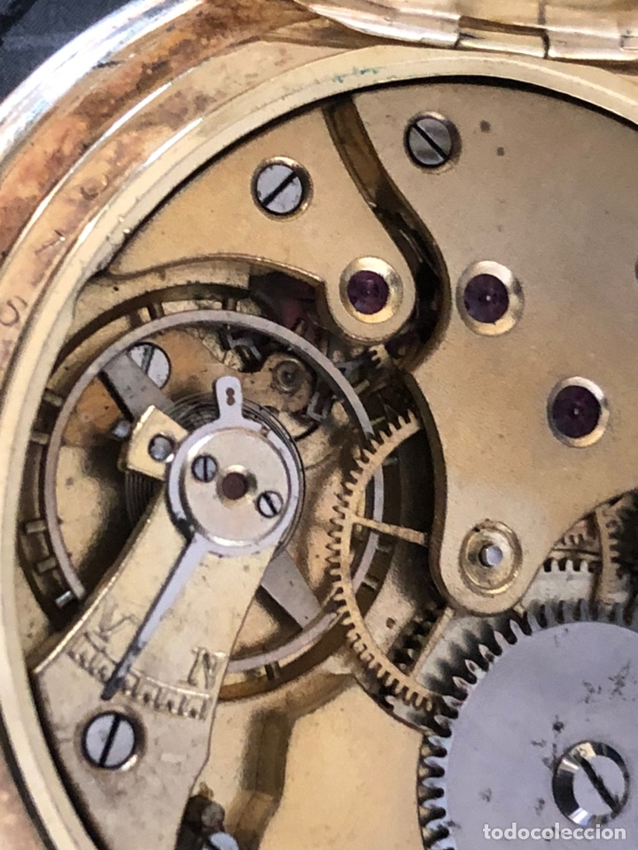 Relojes de bolsillo: Precioso reloj Drusus doble chapado mde oro , ver foto 54 mm falta corona - Foto 8 - 153311688
