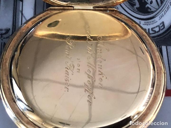 Relojes de bolsillo: Precioso reloj Drusus doble chapado mde oro , ver foto 54 mm falta corona - Foto 9 - 153311688