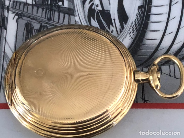 Relojes de bolsillo: Precioso reloj Drusus doble chapado mde oro , ver foto 54 mm falta corona - Foto 10 - 153311688