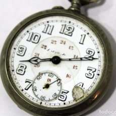 Relojes de bolsillo: RELOJ DE BOLSILLO. DEPOSE ARGENTAN.ESFERA: 4,8 CM.. Lote 153367274