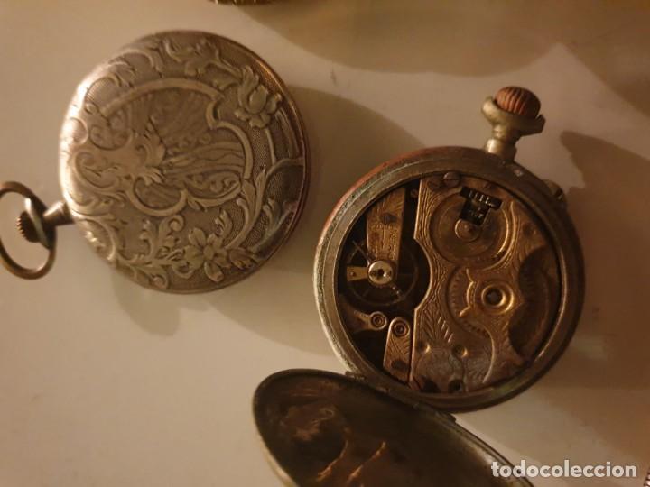 Relojes de bolsillo: LOTE 13 RELOJES BOLSILLO RESTAURAR O PIEZAS - Foto 4 - 153389322
