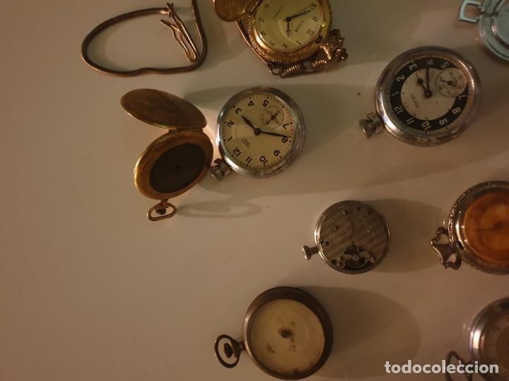 Relojes de bolsillo: LOTE 13 RELOJES BOLSILLO RESTAURAR O PIEZAS - Foto 5 - 153389322