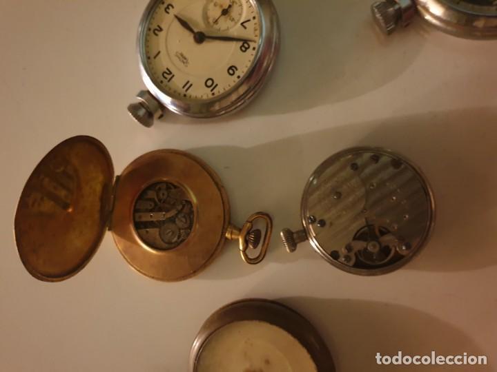 Relojes de bolsillo: LOTE 13 RELOJES BOLSILLO RESTAURAR O PIEZAS - Foto 6 - 153389322