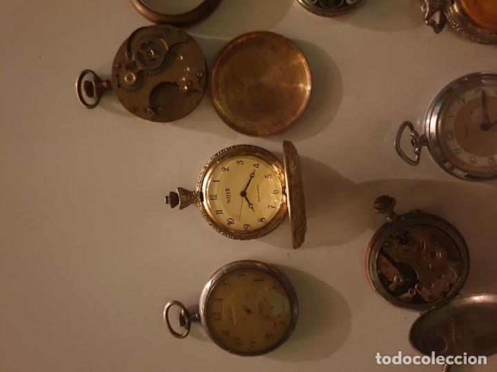 Relojes de bolsillo: LOTE 13 RELOJES BOLSILLO RESTAURAR O PIEZAS - Foto 9 - 153389322