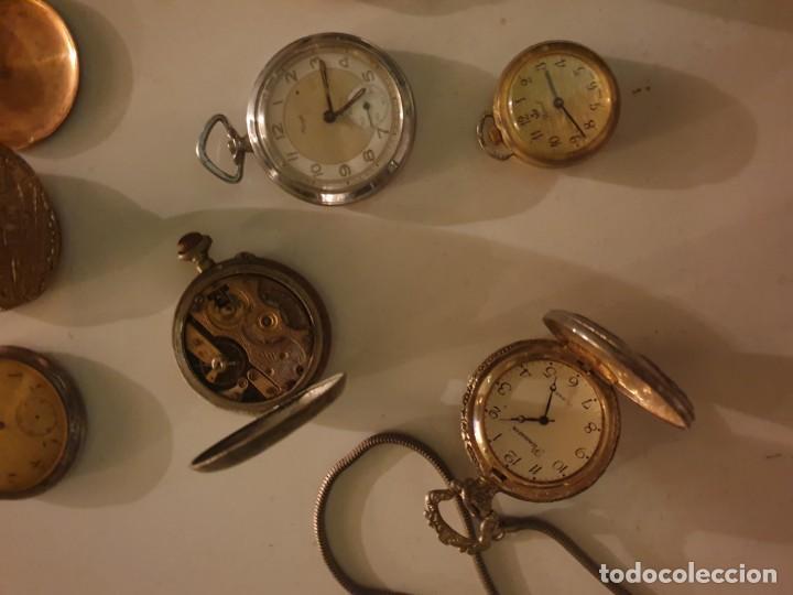 Relojes de bolsillo: LOTE 13 RELOJES BOLSILLO RESTAURAR O PIEZAS - Foto 11 - 153389322