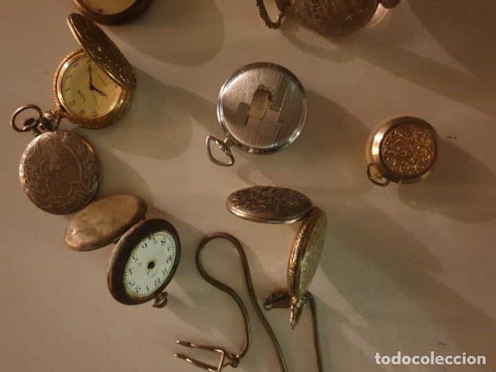 Relojes de bolsillo: LOTE 13 RELOJES BOLSILLO RESTAURAR O PIEZAS - Foto 12 - 153389322