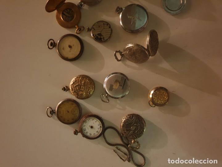 Relojes de bolsillo: LOTE 13 RELOJES BOLSILLO RESTAURAR O PIEZAS - Foto 13 - 153389322